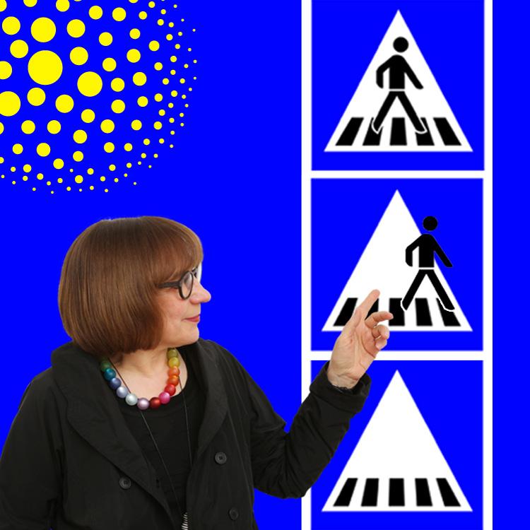 Doris Gutermuth, Zebrastreifen-Design